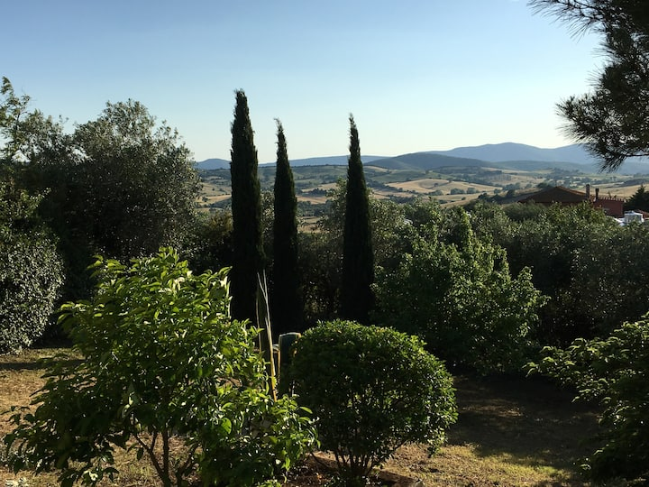VILLA WITH PARK - MONTIANO TUSCANY 12 KM  FROM SEA