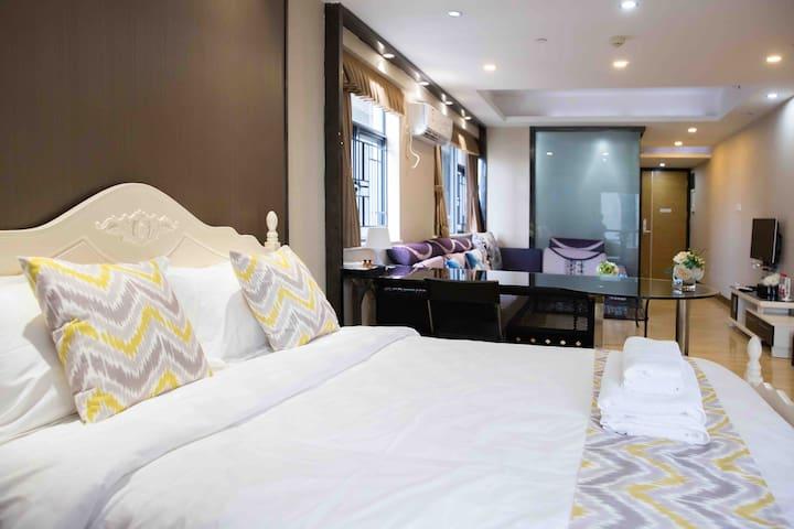 中山市最中心的位置 利和公寓 温馨的公寓