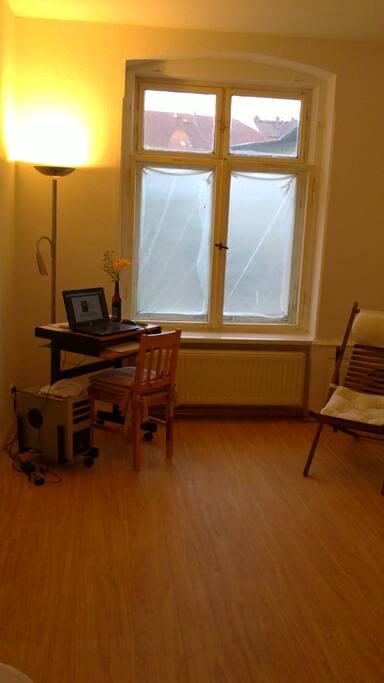 Teil des Wohnraums