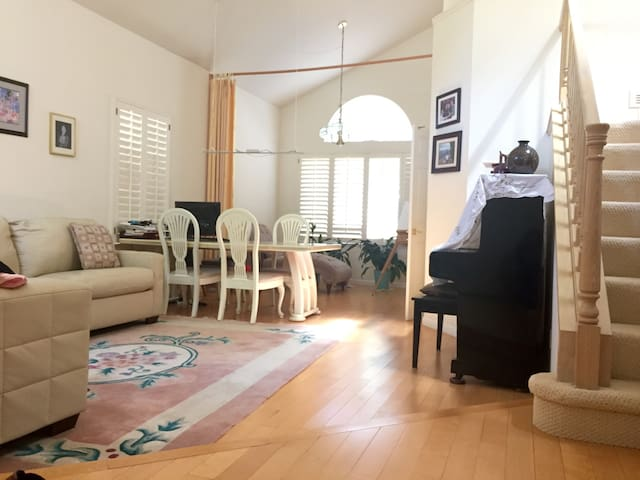 1 Bedroom in Sunny, Quiet Cupertino Home - Cupertino - Flat