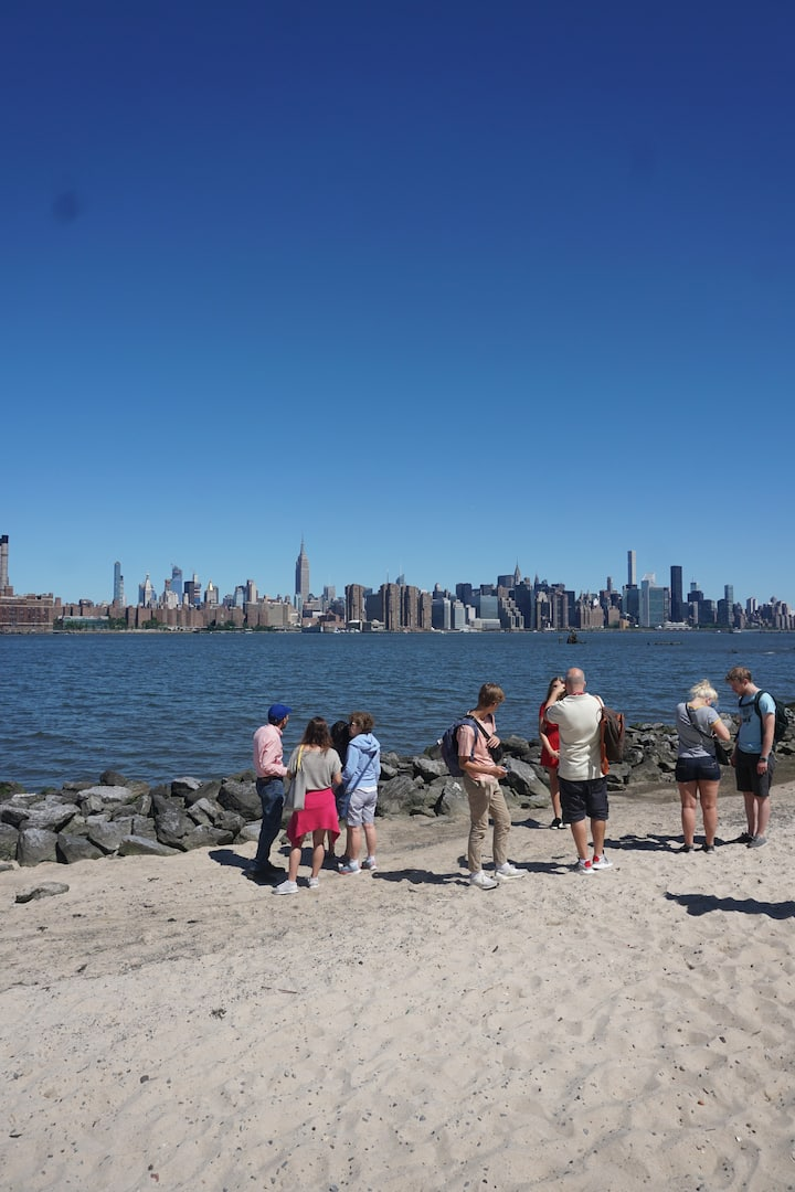 A little beach in Brooklyn
