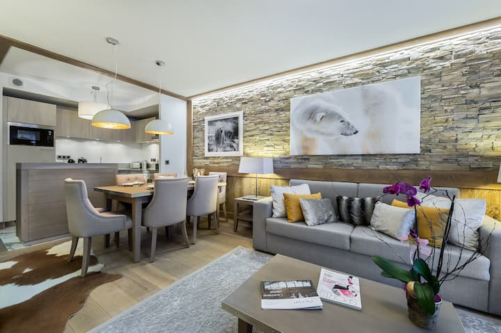 Carré Blanc 234: 3 rooms with traditional ambience