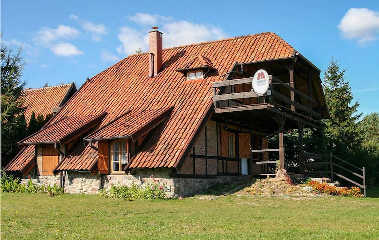 Holiday cottage with 3 bedrooms on 112m² in Lidzbark Warminski