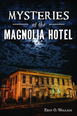 "Also before check-in, you can arrange to purchase the owner's signed book called ""Mysteries of the Magnolia Hotel"" by Erin O Wallace - Ghedi. There are $22 and can be waiting in your room when arriving."