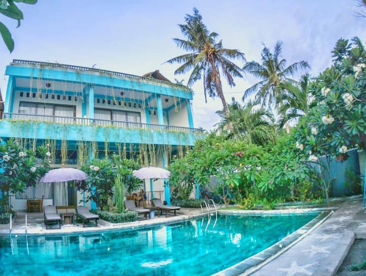 Private Three Bedroom Villa with Pool.