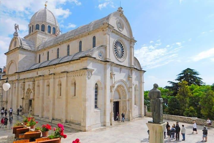 CITY OF SIBENIK - SAINT JACOB'S CATHEDRAL (UNESCO HERITAGE)