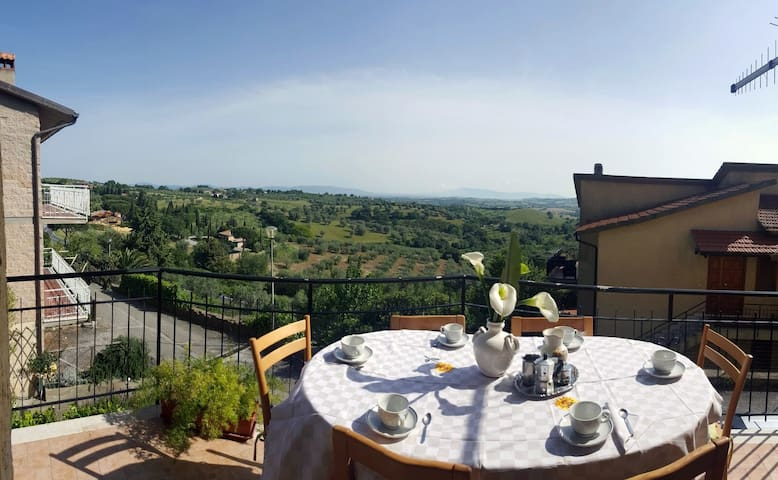 Sea view, private apartment in Maremma - Montiano - Apartment