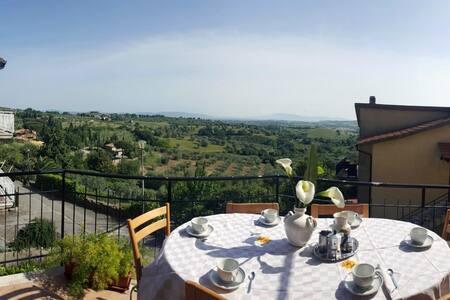 Sea view, private apartment in Maremma - Montiano