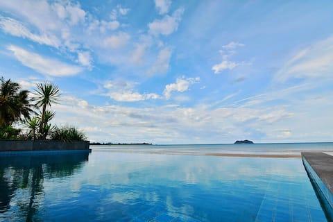 Villa Pathio - Luxury Beach Front & Private Pool