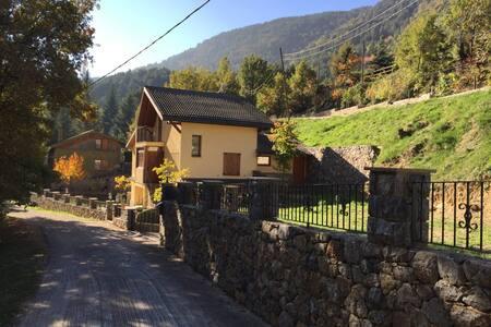 Casa de muntanya.