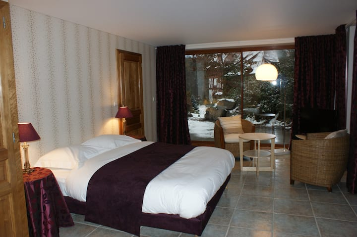 08. Perle-Double room-Premium-Ensuite with Shower-Garden View