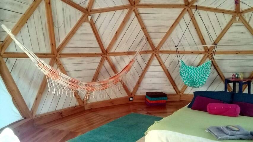 Cabaña Domo en Escobar - Espacio Ecológico