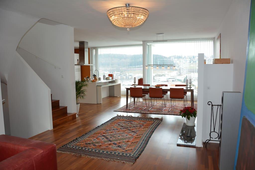 Luxuswohnung 140 m 10 min bis salzburg zentrum Designer wohnung