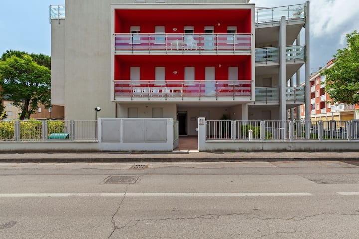 Modern holiday home close to the sea, in Rosolina Mare, near Venice