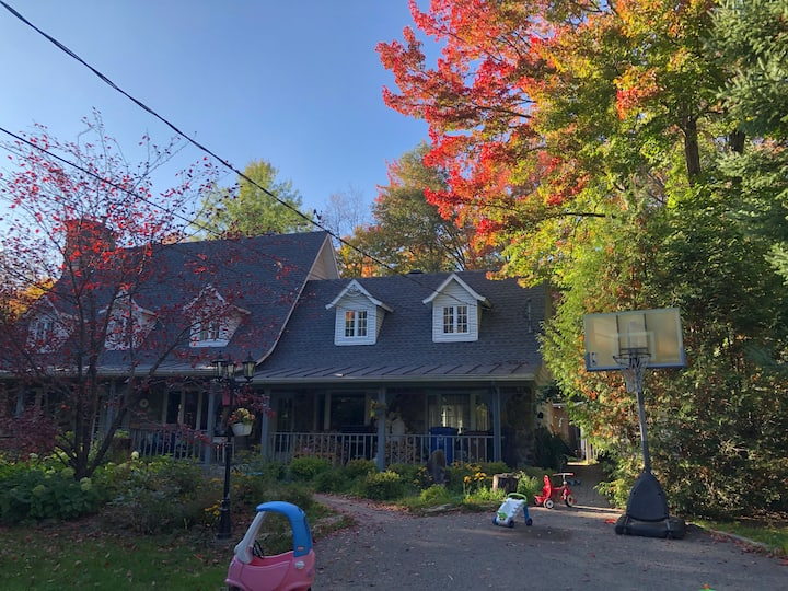Maison canadienne dans Les Laurentides