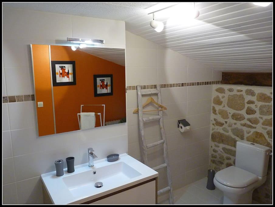 Salle de bain de Feuillardier