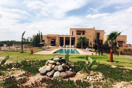 Villa de luxe avec piscine privée - マラケシュ