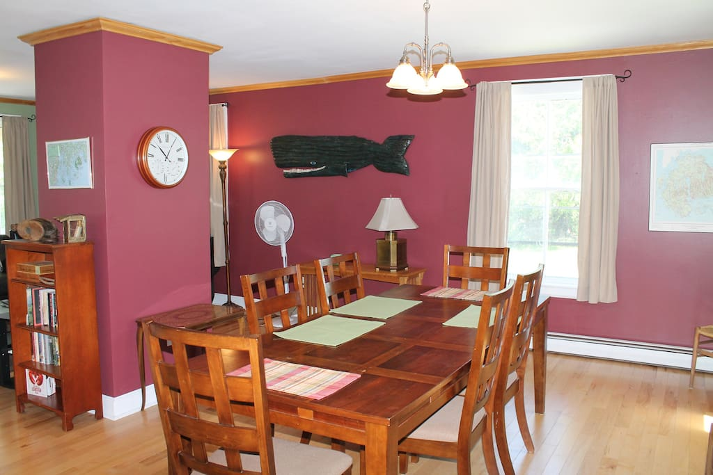 Dining area for family gatherings!