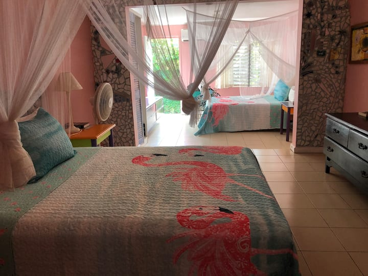 The Pink Room @ The Calabash Guest House