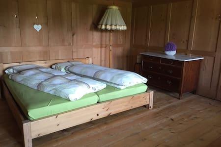 Rustikales Wohnen auf dem Bauernhof Zimmer 2