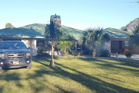 Dream Vacation Home - Fishing/Farm - Okeechobee