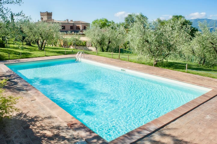 Fonte Sala: a unique Villa in Umbria countryside