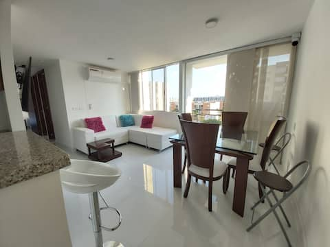 Furnished Apartment For An Unforgettable Stay A/C