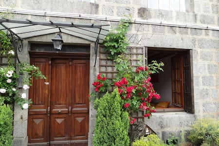 2rooms in house+garden in Le Pilat 1hour from Lyon - Jonzieux - 旅舍