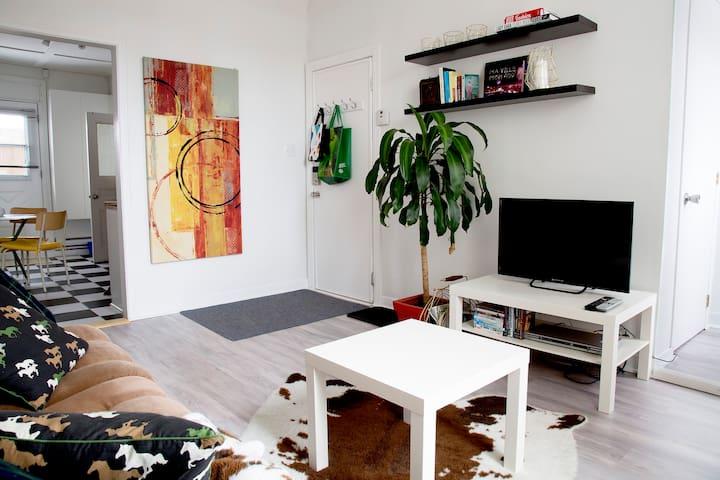 2 rooms apartment + parcking place - Ville de Québec - Apartment