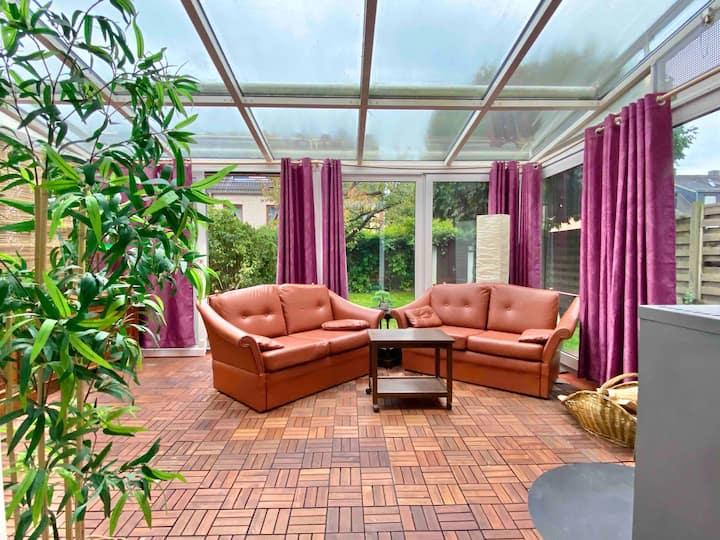 ArtHOUSE - Wintergarten, Ofen, Garten und Netflix
