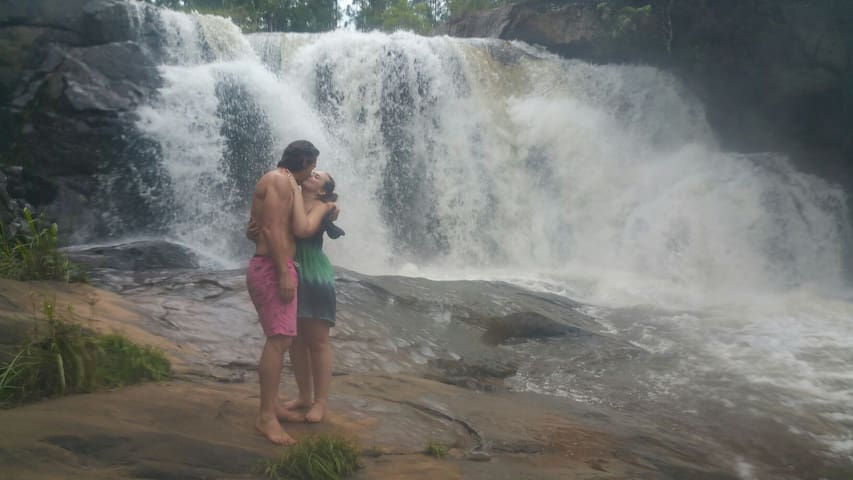 Waterfall on our farm on the Sabie river