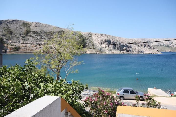Two bedroom apartment near beach Metajna, Pag (A-6352-c)