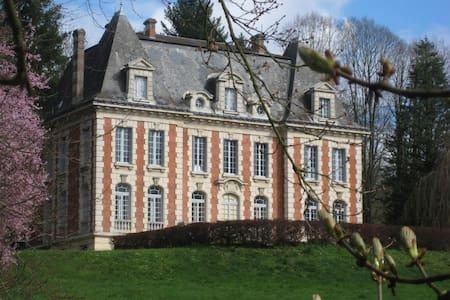 Chateau de Pancy - Chambre Etang - Pancy-Courtecon