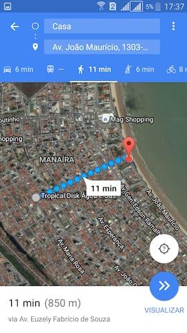 Quitinete completo em Manaíra na praia - João Pessoa - Byt