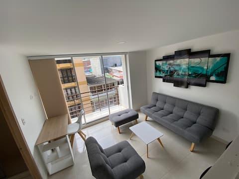 Apartaestudio entero - Nuevo - Campus 67 • Ibagué