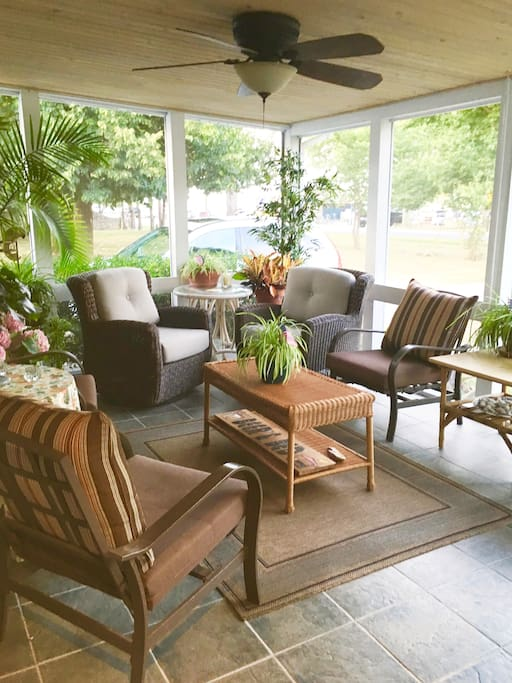 Front Screened In Porch