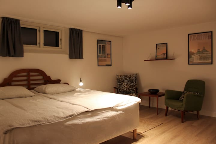 1 Cosy private-room, kingsize-bed, near CPH centre