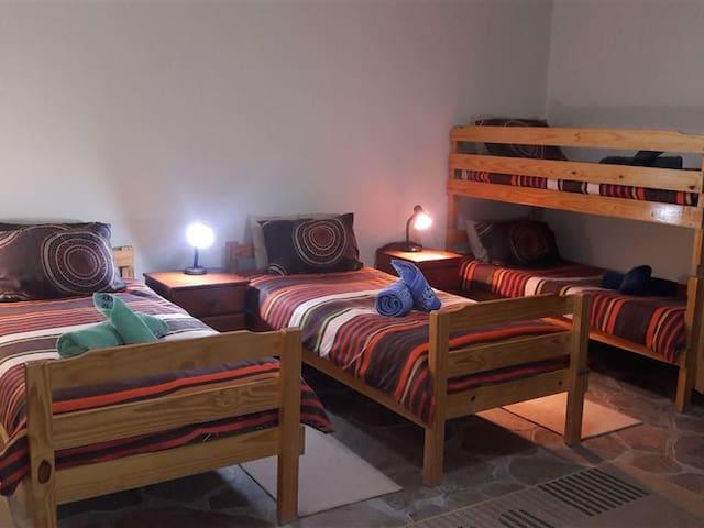 Room 5.  Family room - sleep 4