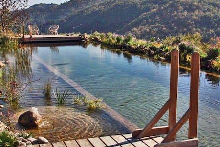 Chambre d'hôtes avec piscine naturelle «Tenzin»