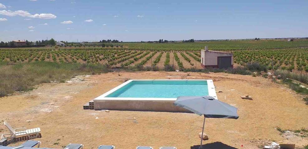 Casa rural: Apartamento Menorca con piscina