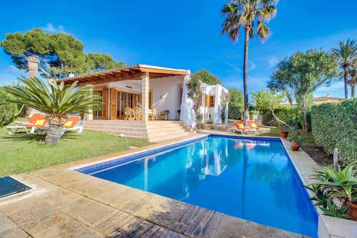 NEW!Family house with pool near beach Porto Cristo