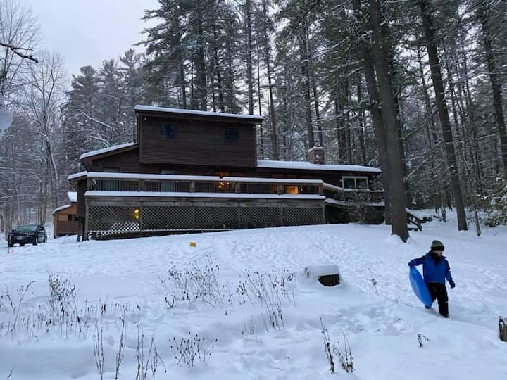 An ADK lake house with room for everyone!