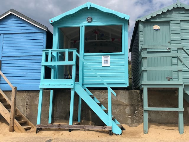 Beach Hut: Walton on the Naze, 392 Eastcliff Beach