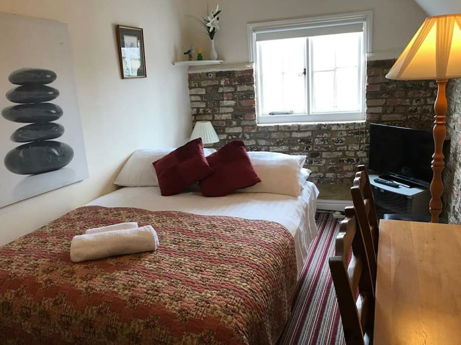 Extra Double Bed available (mattress on Sofa Bed) in living room