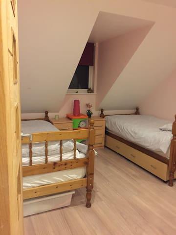 Twin Room, quiet location