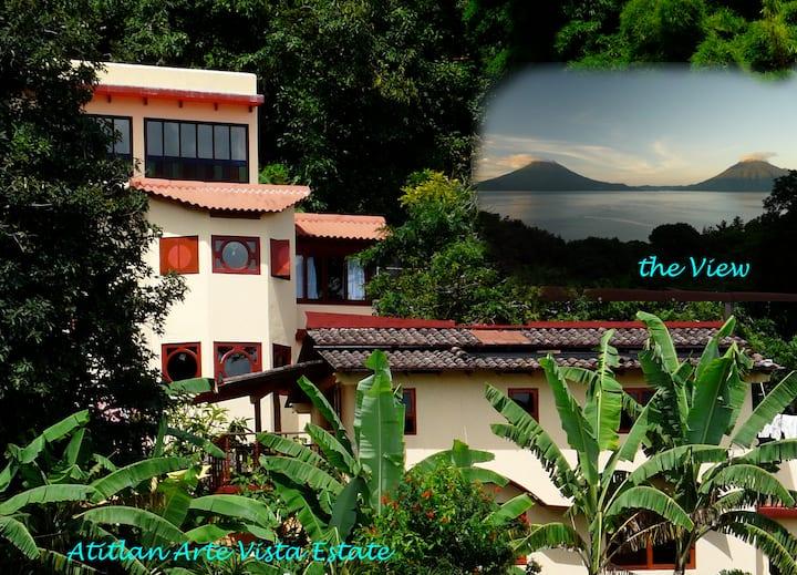 AtitlanArteVista. Villa Colores,  Retreat House