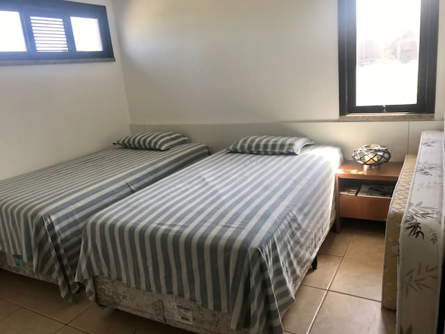 Bed Room 3 with two big 5 Star Single Beds (King Size Together) with extra madresses.