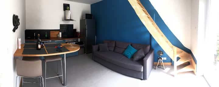 Duplex de 40m2 confortable 10 min du centre-ville