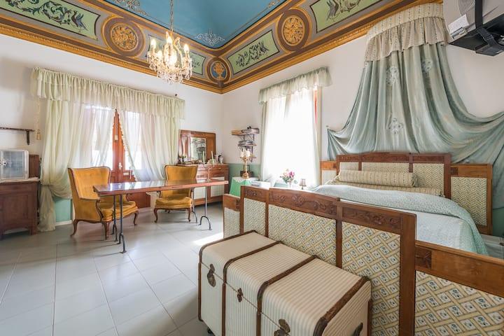 Villa di charme per 4, vista mare, Leni Salina