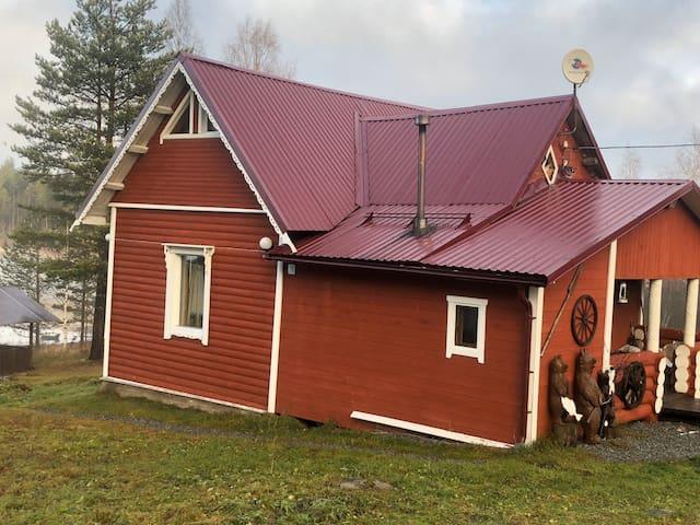 Карельский домик в самом сердце Карелии